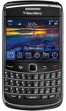 BlackBerry Bold 9700 Top Up 315 Vodacom Deal