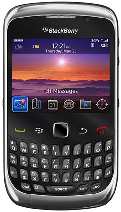 BlackBerry Curve 9300 Prepaid Cell C Special
