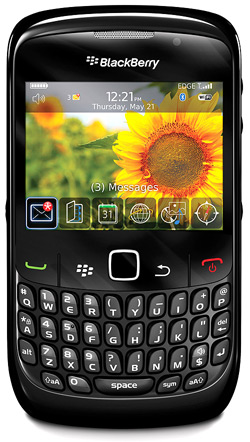 BlackBerry Curve 8520 Top Up 135 Vodacom Deal