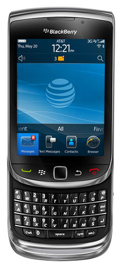 BlackBerry Torch 9800 activechat 100 Cell C Deal