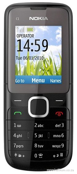 Nokia C1-01 Everyday Off Peak 120 Vodacom Special