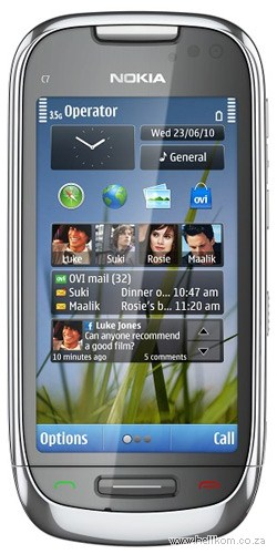 Nokia C7 ActiveChat 100 Cell C Deal