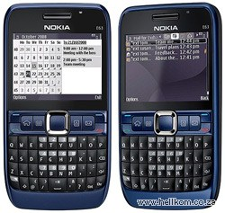 Nokia E63 Functional Specifications