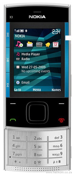 Nokia X3 Business Call Vodacom Special