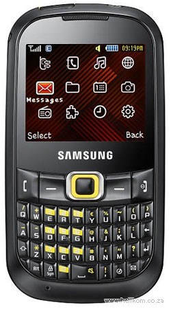 Samsung B3210 Corby TXT Top Up 315 Vodacom Deal
