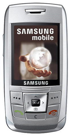 Samsung E250 Top Up 500 S Vodacom Special