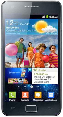 Samsung i9100 Galaxy S II ActiveChat 100 Cell C Deal