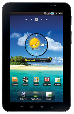 Samsung Galaxy Tab P1000 Anytime 200 MTN Deal