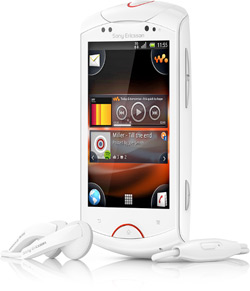 Sony Ericsson Live with Walkman Everyday Off-Peak 120 Vodacom Deal
