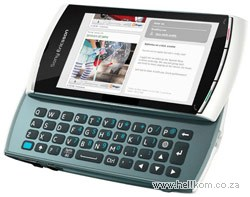 Sony Ericsson Vivaz Pro Everyday Off-Peak 120 Vodacom Deal
